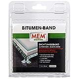 MEM 500486 Bitumen-Band alu 10 cm x 1 m