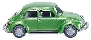 "Wiking 079504 -VW Käfer 1303 ""City"" green-ischia-metallic (Model Car 1:87)"