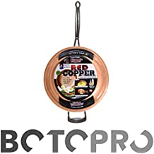 BOTOPRO - Sartén Red Copper 24cm, la sartén Que no se Raya y Nada se