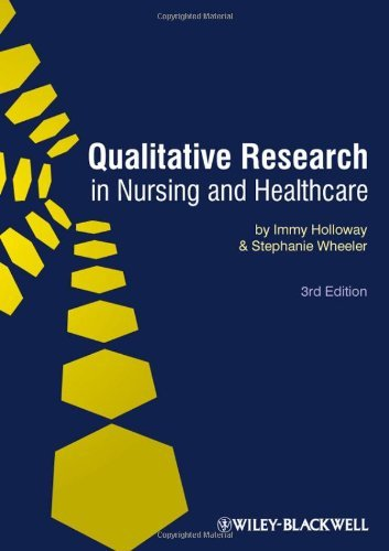 Qualitative Research in Nursing and Health Care by Holloway, Immy, Wheeler, Stephanie (November 6, 2009) Paperback