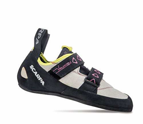 Scarpa Velocity Women lightgrey-yellow