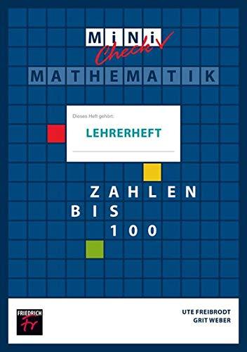 Mini Check: Zahlen bis 100 - Lehrerheft (Zahlen-check)