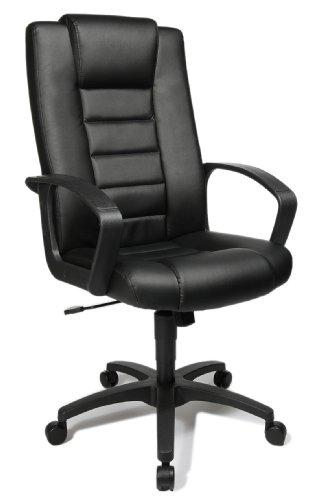 Topstar 7800D60 Chefsessel Comfort Point 10, Bezugsstoff Kunstleder schwarz