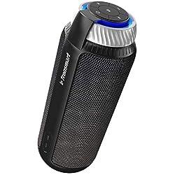 Haut-Parleur Bluetooth Enceinte 25W,Tronsmart Speaker Bluetooth 4.1 sans Fil Stéréo Portable,Mains Libres, Stéréo,15 Heures d'autonomie,Compatible avec Samsung, Huawei, iPad