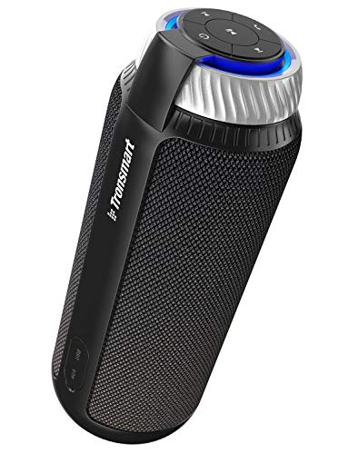 Altoparlante Bluetooth,Tronsmart T6 25W Cassa Bluetooth 4.1 Speaker Subwoofer Wireless, Basso, Audio Stereo 360, 15 ore di gioco, Microfono Incorporato per Smartphone Tablet PC