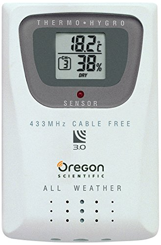Oregon Scientific THGR810 Thermometer & Humidity Sensor For WMR100