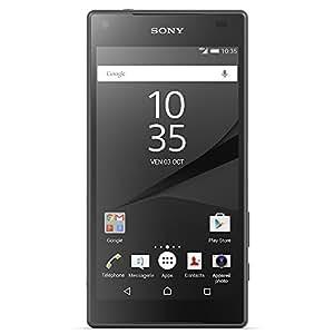 Sony Xperia Z5 Compact Smartphone débloqué 4G (Ecran: 4.6 pouces - 32 Go - Simple Nano-SIM - Android 5.1 Lollipop) Noir