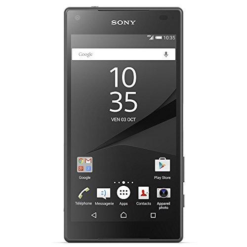 Sony E5823/S60/1298-4171 Xperia Z5 Compact Smartphone (32 GB, Festnetz 4G, Display 11,68 cm (4,6 Zoll) HD) schwarz