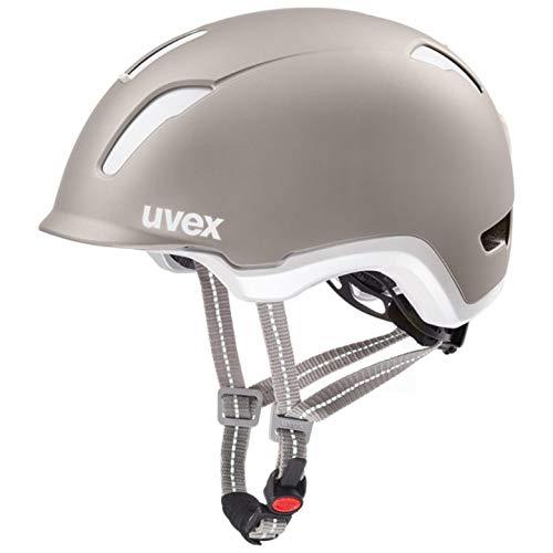 Uvex City 9 E-Bike Fahrrad Helm grau 2019: Größe: 53-57cm
