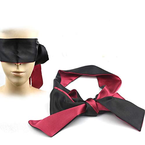 Augenmaske 100% Naturseide für Sleepmask, Schattierung, Premium Schlafbrille mit innovativ gewölbter Form für komplette Seide, leicht für Männer, Frauen und - Der Shadow Mann Kostüm