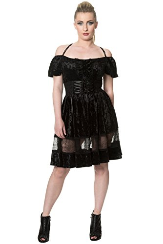 Dresses Prom Goth (Banned Kleid DARING UNTIL DAWN DRESS 5202 Schwarz)