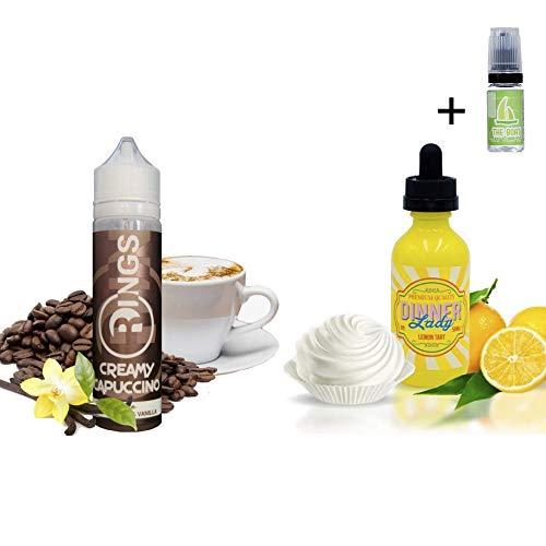 E Liquid Rings Creamy Capuccino 50ml - 70vg 30pg +