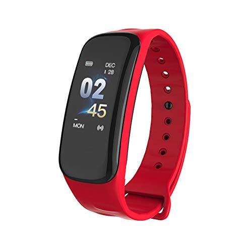GerTong Fitness Trackers con Monitor de Corazón, C1S Pulsera Inteligente con Monitor de Presión Sangre Medida de Presión… 1