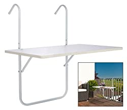 Balcony table snack table dining furniture folding tables shelf