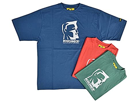 Roughneck Clothing 95–037T-shirt, Lot de 3, 106,7cm -44cm, L, couleurs