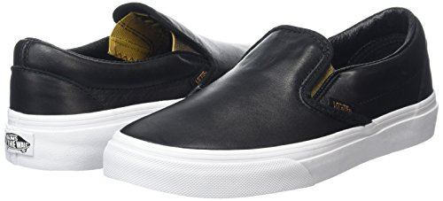 Vans VZMRFJH, Unisex Adults' Low-Top Sneakers, Black (Metallic Gore Black/Gold), 3 UK (35 EU)