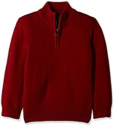 The Childrens Place Boys Sweater (20662271027_Classic Red_3 Years)