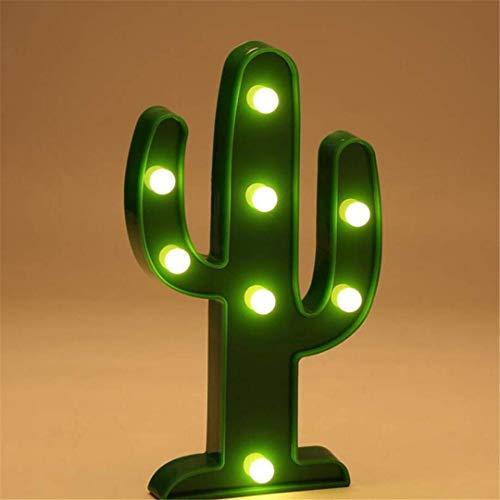 CC6 Night Light Cactus Tir LED Lumières Décoratives Accessoires Table Lampe Mignon Enfants Chambre Styling Night Light Rêve Tenture Murale