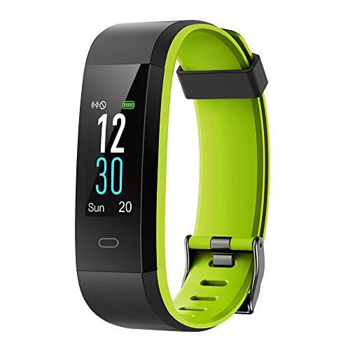 yamay Fitness Armband mit Pulsmesser,Wasserdicht IP68 Fitness Tracker 0,96 Zoll Farbbildschirm Aktivitätstracker Pulsuhren Smartwatch Schrittzaehler Uhr Smart Watch Fitness Uhr...