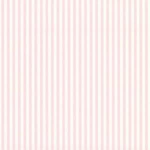 Lutèce-Papier peint à rayures roses et blanches Tartine et Chocolat