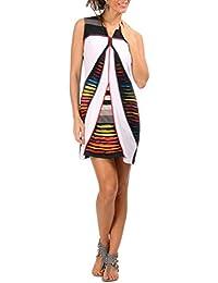 """Robe tunique SWAMEE """"Sunil"""" blanc Collection été"""