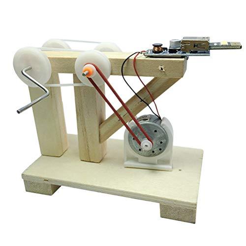 Ysoom Pädagogisches Spielzeug, DIY Generator Spielzeug Labor Experiment Lernspielzeug Physik Unterricht Spielzeug für Kinder - Dynamo Generator Modell