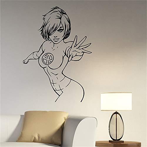 Unsichtbare Frauen-Comics-Superheld-Dekorationen für Hauptkindermädchen-Schlafzimmer-Dekor