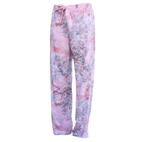 King 's Camo Pink Shadow Damen Lounge PJ Hose, Pink Shadow -