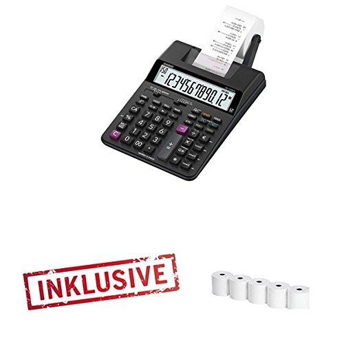 Casio HR-150TEC Tischrechner druckend inkl. 5 Papierrollen