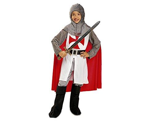 My Other Me Me - Disfraz de caballero medieval con capa, 5-6 años (Viving Costumes 201165)
