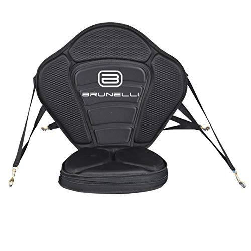 Brunelli EXTRA Dicker Kajak-Sitz für SUP Board Stand Up Paddle SUP ISUP mit Tasche -