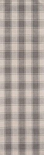 Erin Gates by Momeni Marlborough Charles Handgewebter Wollteppich, Grau 2'3