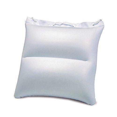 Ebuygb cuscino gonfiabile per spiaggia e borsa, bianco, 22x 16.99x 1.8cm