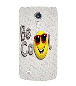 PrintVisa Cute Cartoon Cool Smiley 3D Hard Polycarbonate Designer Back Case Cover for Samsung Galaxy S4