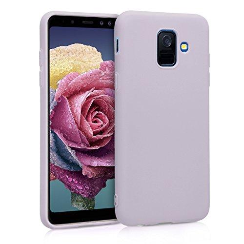 Preisvergleich Produktbild kwmobile Samsung Galaxy A6 (2018) Hülle - Handyhülle für Samsung Galaxy A6 (2018) - Handy Case in Lavendel