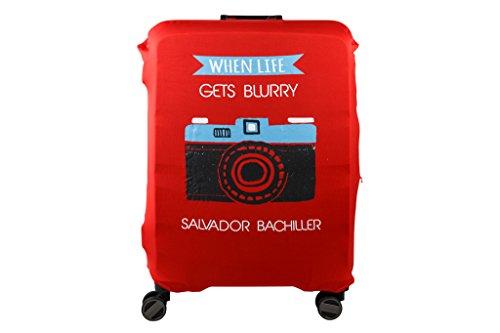Salvador Bachiller - Funda Universal Camera Compl Viaj Lgz1705 Rojo L
