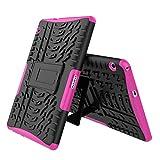 MachinYesell Anti-Slip Dustproof Anti-Drop Protector Housse de Protection Pochette Skin Shell pour Huawei MediaPad T3 10 9.6 Pouces (Couleur: Rose Rouge)