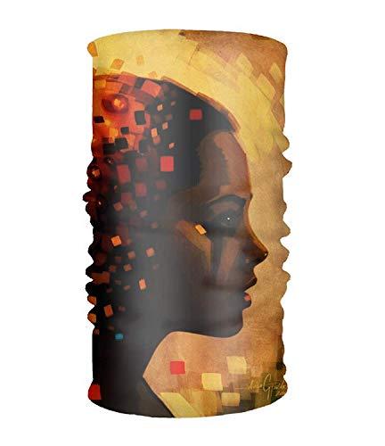 Unisex Artistic Psychedelic Dark Woman Quick Dry Microfiber Headwear Outdoor Magic Bandana Neck Gaiter Kopf Wickeln Stirnband Scarf Face Mask Ultra Soft Elastic Handscarf Burton Magic