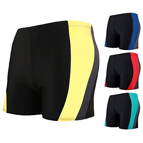 CHENGXIAOXUAN Männer Gerade Schlank Badehose Sexy Komfortabel Spa Badeanzug Mode Stil Haltegurt Shorts Strandhosen B
