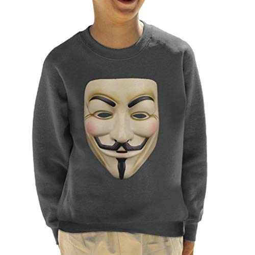 Cloud City 7 Resistance Symbol Mask Anonymous Kid's Sweatshirt