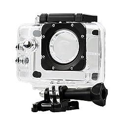 Outdoor Sport Action Camera Box Case Waterproof Case for SJCAM SJ4000 Wifi