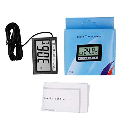 mildily Doppeltemperaturanzeige Digitales elektronisches Thermometer - mit Anzeige Verwendung für ST-Aquarium Kühlschrank Gefrierschrank Auto Klimaanlage Tremendous