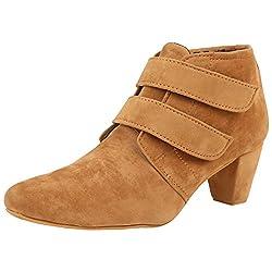 Exotique Womens Tan Casual Boot (EL0031BG-39)