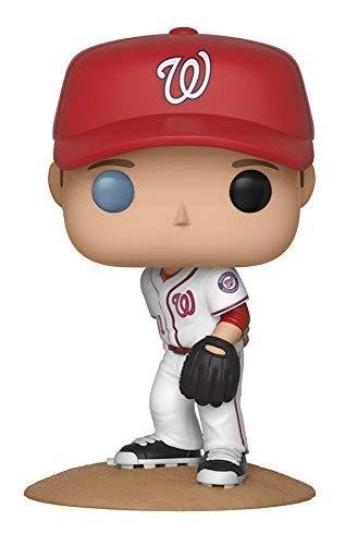 Funko-Major League Baseball Figure Max Scherzer Statue Sammelbar New York Toy Fair, 9cm, 30243
