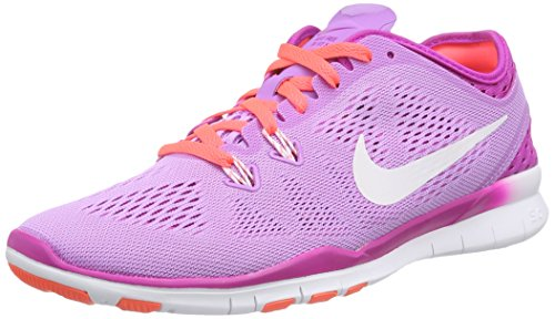 Nike Free TR 5 Breathe, Damen Hallenschuhe, Violett