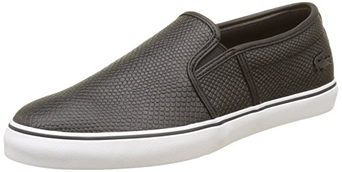 Lacoste Damen Gazon 317 2 Trainer Low, Schwarz (Blk), 38 EU