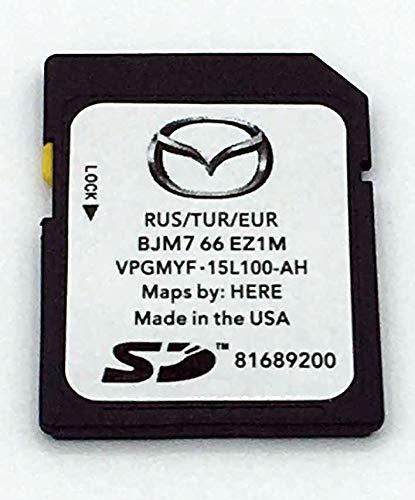 Mazda Connect Navi SD Karte Update Europa 2019/2020 BJM7 66 EZ1M Neu 2019-2020