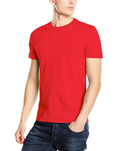 Stedman Apparel Herren T-Shirt James (Crew Neck)/st9200 Premium Rot - Rot - Pepper Red