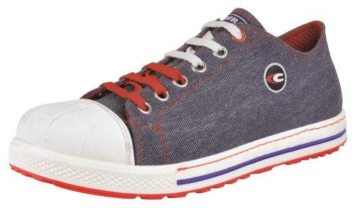 Cofra, 35021-000, Scarpe di sicurezza S1P SRC Hook vecchie glorie scarpe in look scarpa da tennis, taglia 40, viola