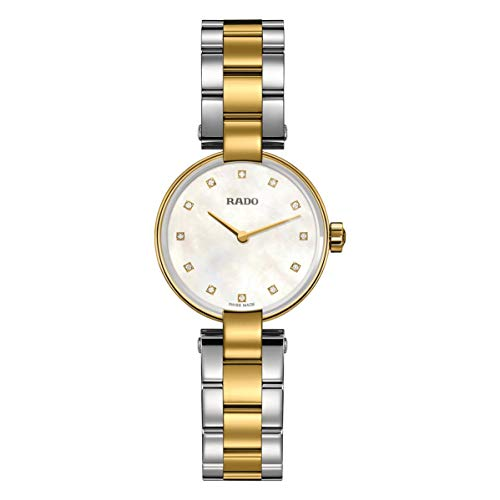 Rado Coupole Femme Diamant 27mm Bicolore Quartz Montre R22857924